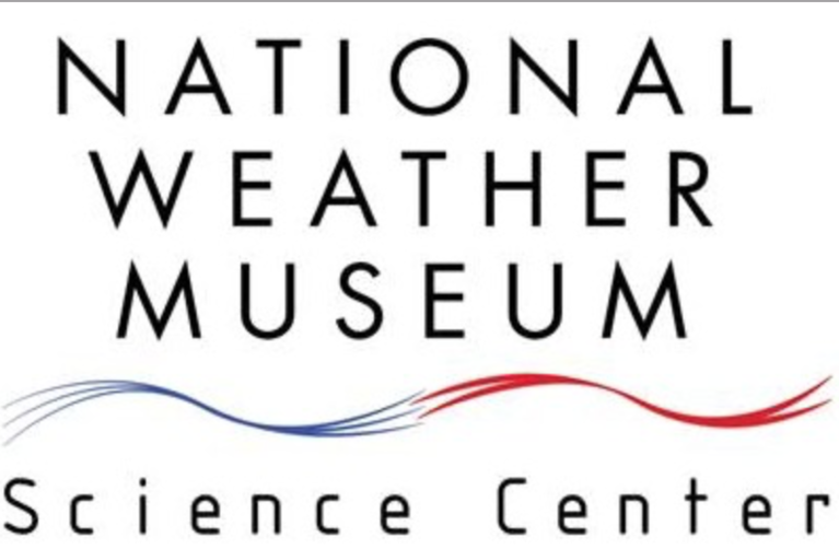 THE NATIONAL WEATHER MUSEUM AND SCIENCE CENTER logo
