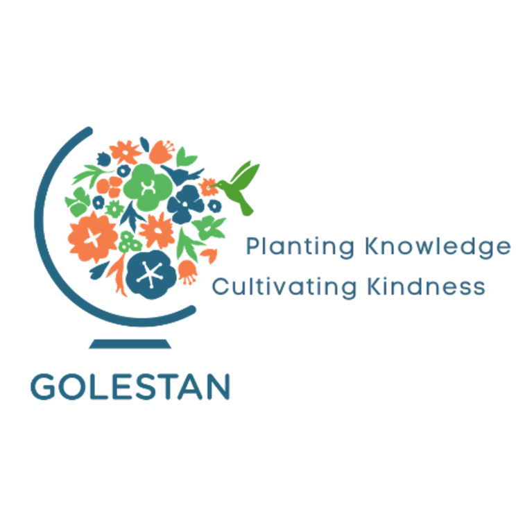 Golestan Center for Language Immersion and Cultural Education logo