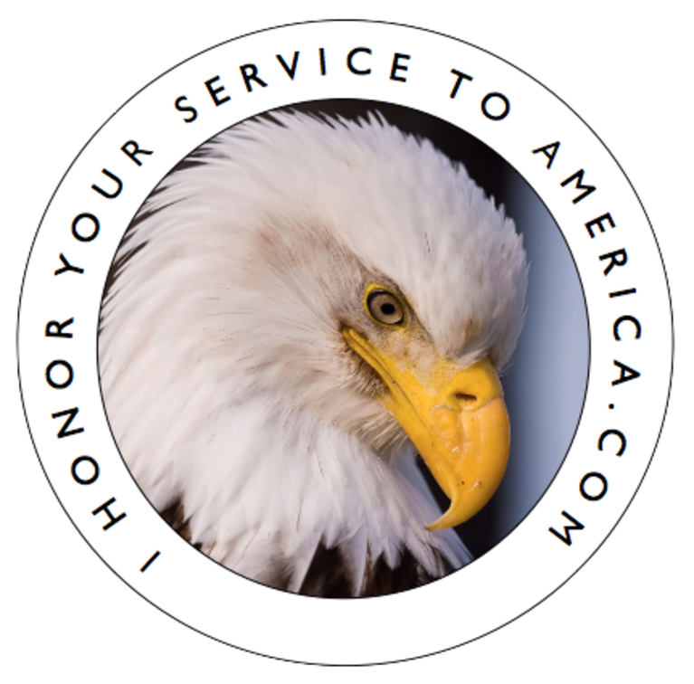 I Honor Your Service To America .com, Inc. logo