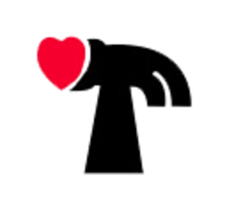 Hearts and Hammers Twin Cities logo