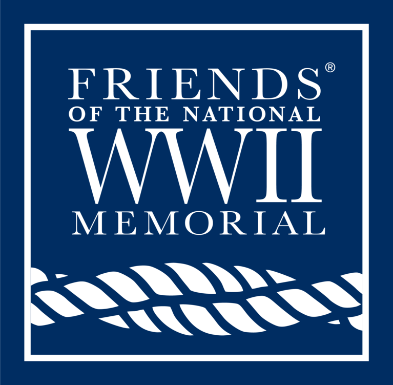 Friends of the National World War II Memorial logo
