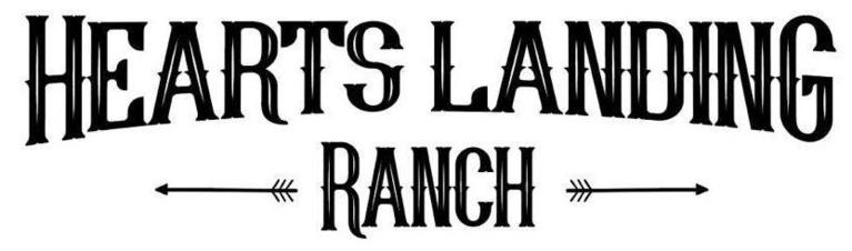 Hearts Landing Ranch logo