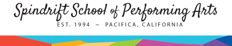 Spindrift School of Performing Arts  logo