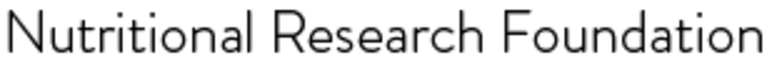 Nutritional Research Foundation logo