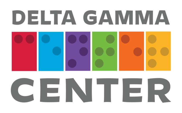 Delta Gamma Center for Children with Visual Impairments logo