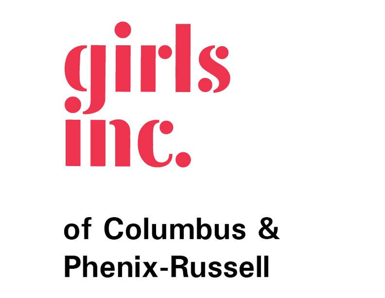 GIRLS INCORPORATED OF COLUMBUS AND PHENIX-RUSSELL logo