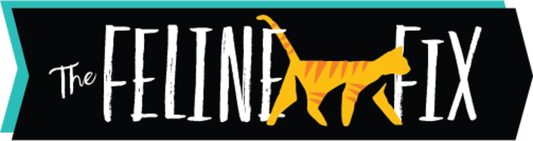 The Feline  Fix logo