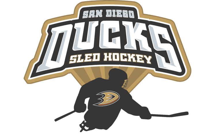 San Diego Ducks Sled Hockey logo