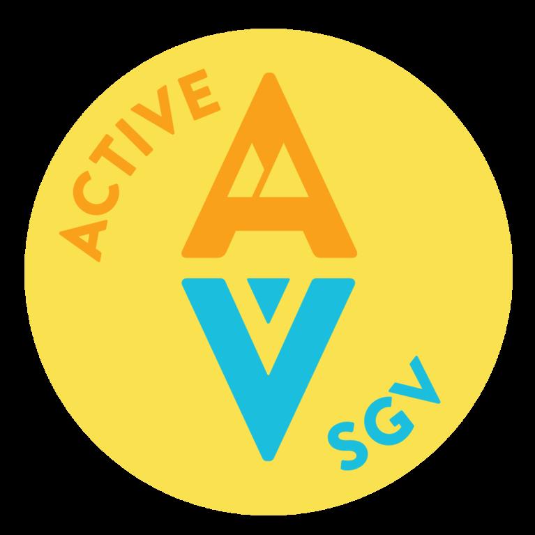 """Active San Gabriel Valley"" logo"