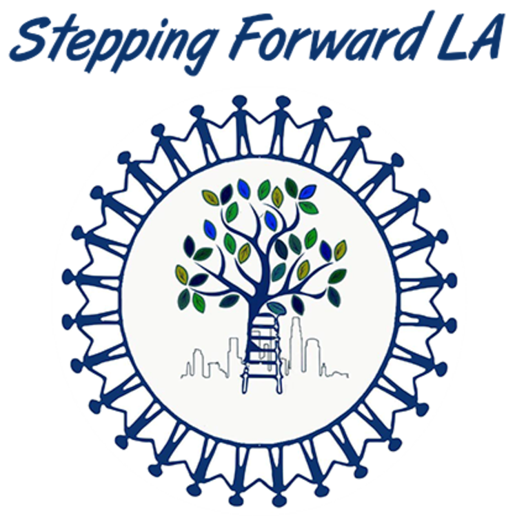 Stepping Forward LA logo