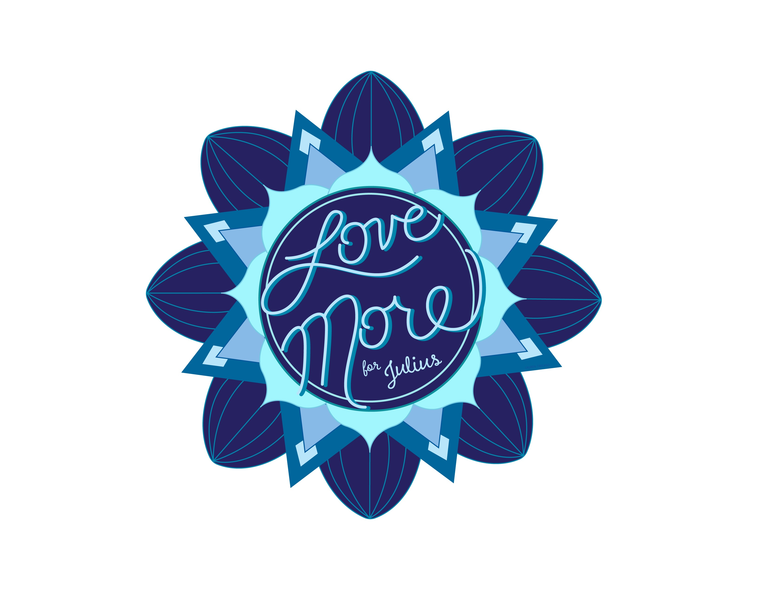 Love More for Julius Inc logo