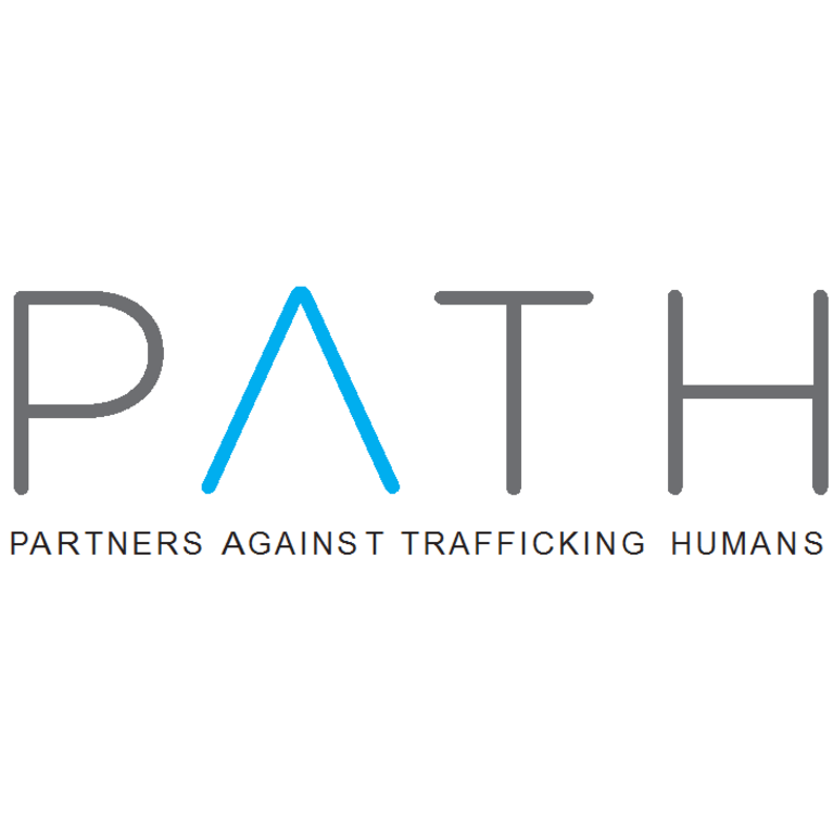 PARTNERS AGAINST TRAFFICKING HUMANS logo