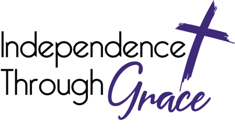 INDEPENDENCE THROUGH GRACE logo