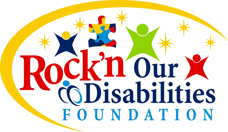 Rock'n Our Disabilities Foundation logo