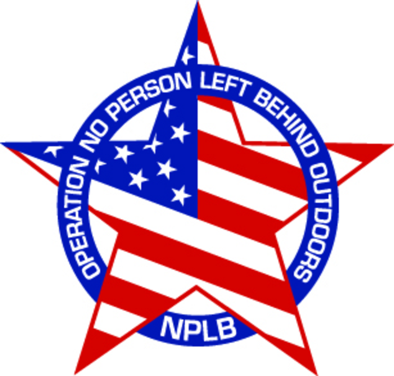 Operation No Person Left Behind Outdoors Inc logo
