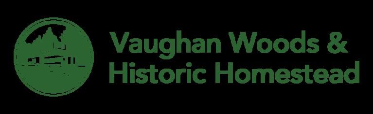 Vaughan Woods & Historic Homestead logo