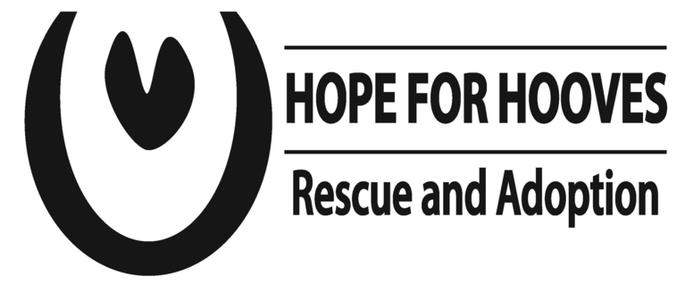 HOPE FOR HOOVES RESCUE AND ADOPTION logo