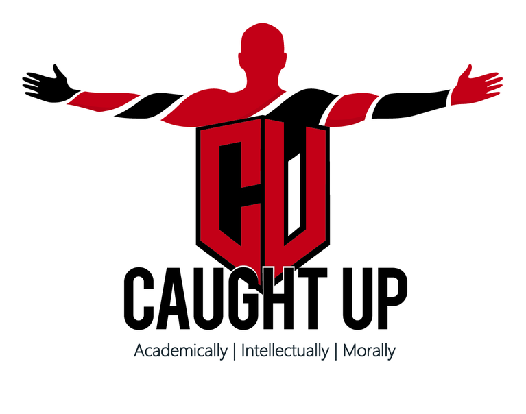 CAUGHT UP logo
