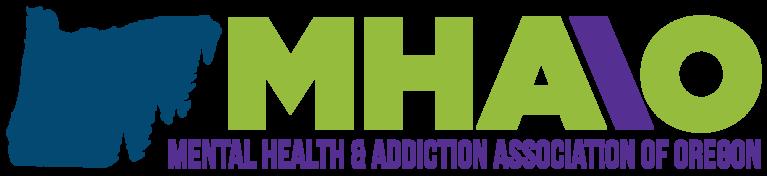 Mental Health & Addiction Association of Oregon logo
