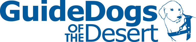 GUIDE DOGS OF THE DESERT logo