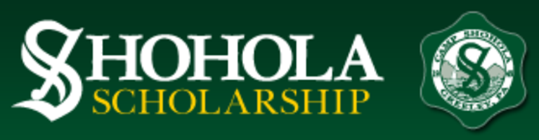 CAMP SHOHOLA SCHOLARSHIP FUND logo