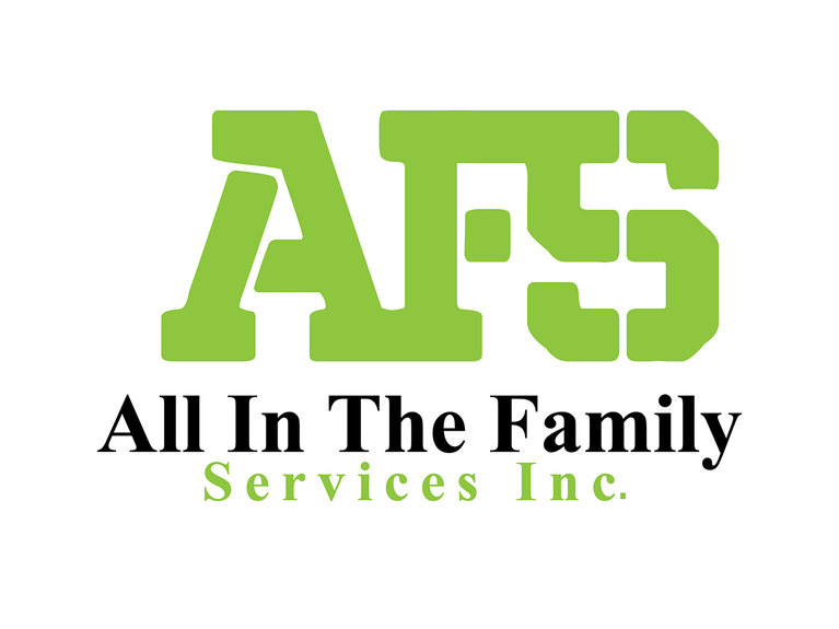 All In the Family - Services Inc. logo