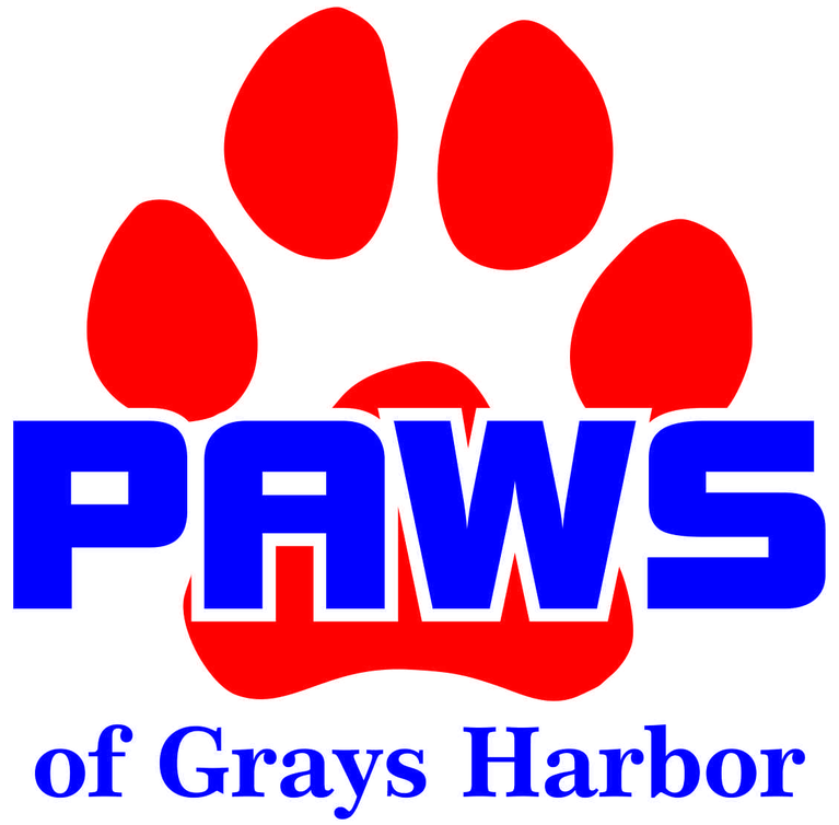 PAWS OF Grays Harbor logo