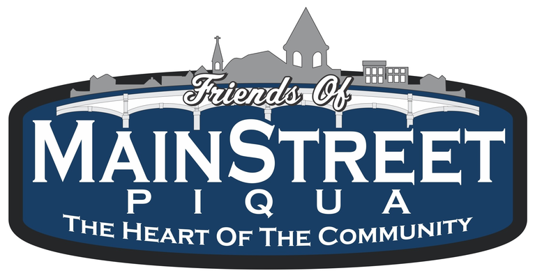 Friends of Mainstreet Piqua, Inc. logo