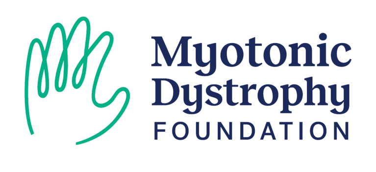 Myotonic Dystrophy Foundation logo